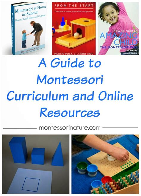 a guide to montessori curriculum and resources 693 | faccfd18696878faa994fdb8e34277a2