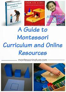 A Guide To Montessori Curriculum And Online Resources