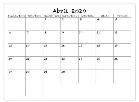 calendario abril  em   imagens calendario