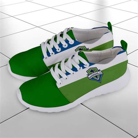 Seattle Sounders FC MLS Soccer Team Athletic Shoes Running ...