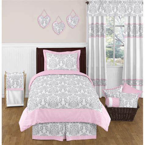 gray and pink comforter set sweet jojo designs elizabeth grey pink bedding set