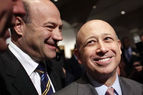 Is Goldman Sachs' Gary Cohn Ready to Step in for Lloyd ...
