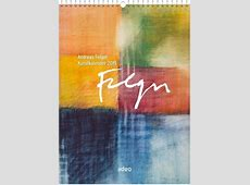 Andreas Felger Kunstkalender 2019 LOGO
