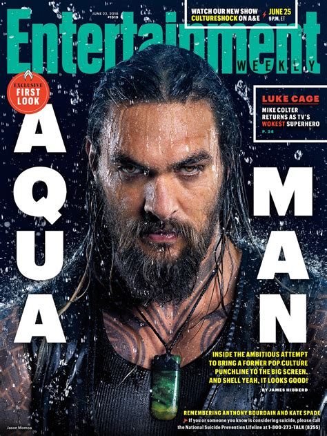entertainment weekly aquaman covers reveal queen nicole