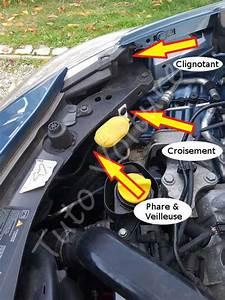 Feux Clio 3 : ampoule avant renault clio comment les changer tuto voiture ~ Medecine-chirurgie-esthetiques.com Avis de Voitures