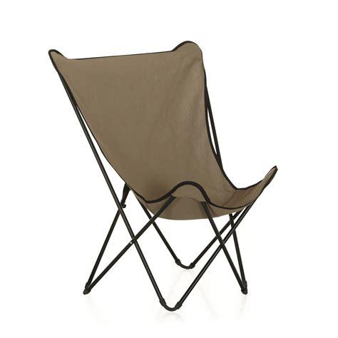 siege lafuma fauteuil de repos pliant beige lafuma beige maxi pop up