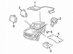 Land Rover Range Rover Anti-theft Alarm Control Unit