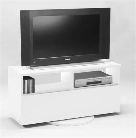 tv rack drehbar hifi tv rack cubic ii weiss dekor drehbar neu ovp 6443