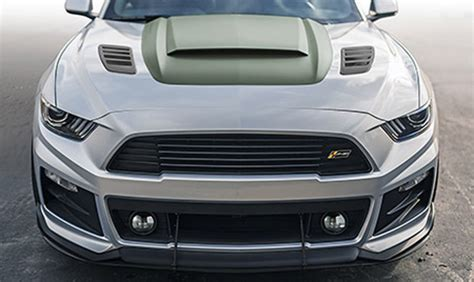 roush performance outdoes    hp mustang