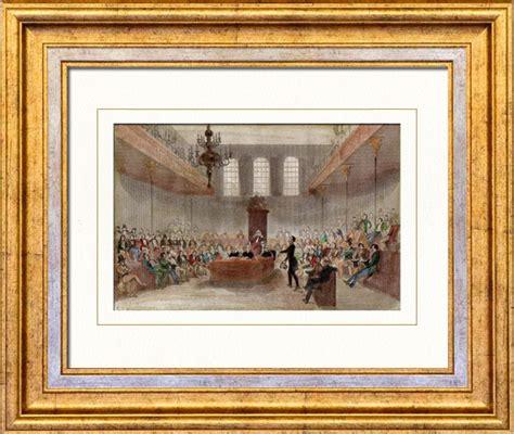 chambre des communes londres gravures anciennes chambre des communes parlement