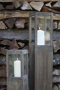 Windlicht Laterne Holz : windlicht s ule rustica holz gewachst 3er set windlichts ule braun ~ Sanjose-hotels-ca.com Haus und Dekorationen