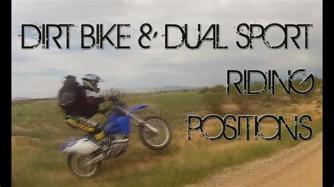 Best Riding Positions For Dirt Bikes & Dual Sport