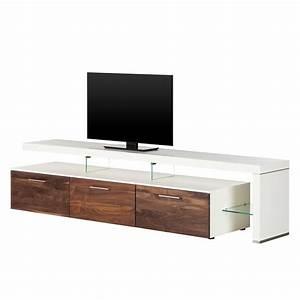 Tv Bank Weiß Holz : lowboard weiss nussbaum preisvergleich die besten angebote online kaufen ~ Whattoseeinmadrid.com Haus und Dekorationen