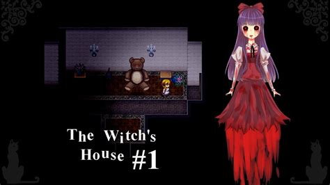 Lets Play The Witchs House Rpg Maker Horror 1 Teddy