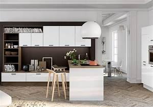 comment amenager une cuisine ouverte sur salon latest With comment decorer une cuisine ouverte