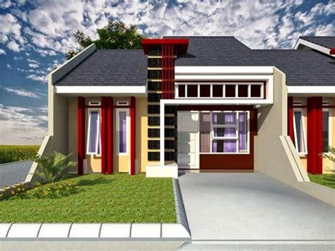 contoh gambar dan desain rumah minimalis 1 lantai