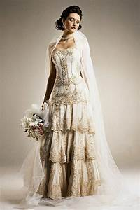 wedding dresses best vintage style plus size wedding With plus size retro wedding dresses