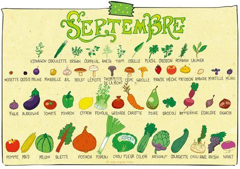 légumes de septembre fruits et l 233 gumes de saison de la t 234 te 224 l assiette