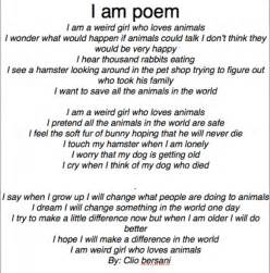 Who I AM Poem Examples