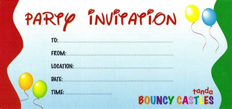 invitation party templates party invitation card invitation templates