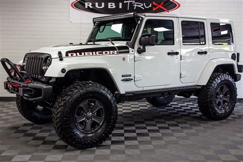 jeep rubicon recon 2018 jeep wrangler rubicon recon unlimited white