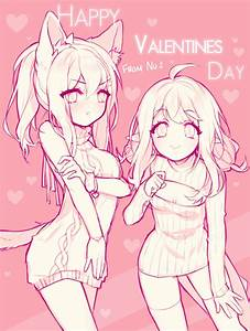 Happy Valentine's Day!! by 01nu on DeviantArt
