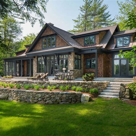 Home Design Ideas Floor Plans by This Is Exactly What I D Like A Home At The Lake To Look