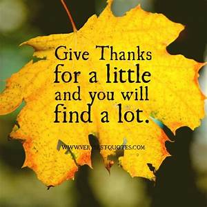 thanksgiving quotes christian | thanks for a little ...