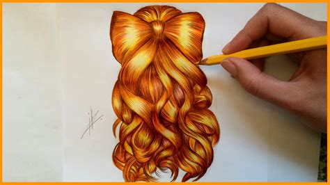 hair styles with bows drawing a bow hairstyle