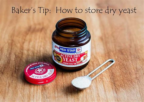 baking bread tips yeast dry storage storing bake easy cooking supplies redstaryeast package breads simple results shelf food visit baked