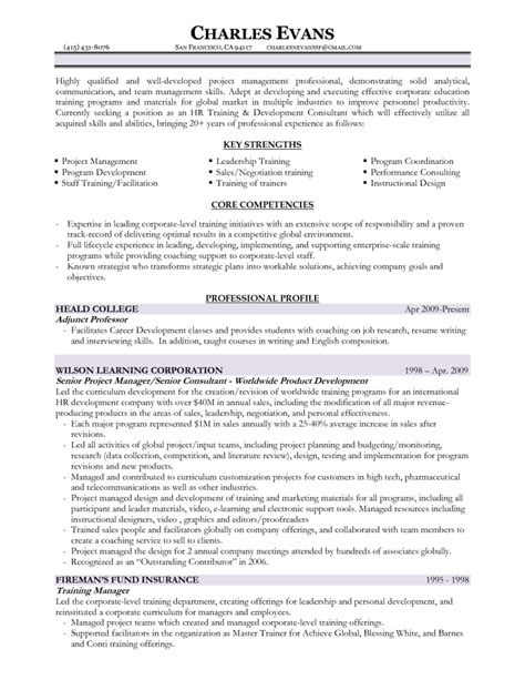 Material Program Manager Resume by Project Management Resume Exles Template Exles