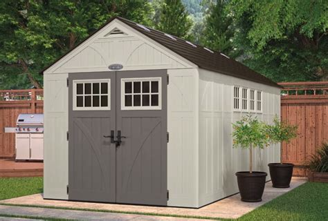 us leisure keter stronghold shed resin storage shed small outdoor storage sheds low