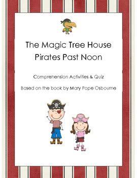 magic tree house pirates  noon comprehension quiz