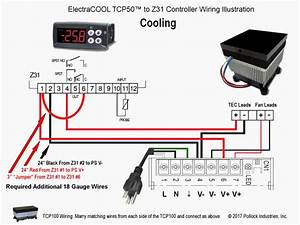 Electracool U2122 Tcp100 U2122 Thermoelectric Cold