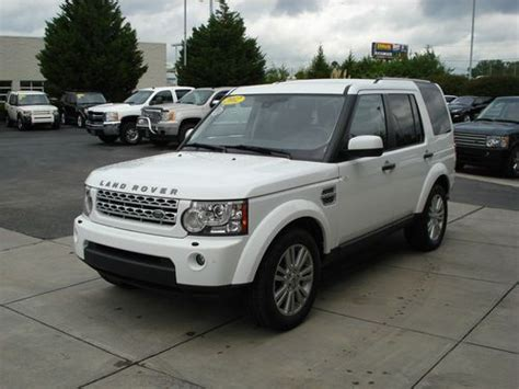 Purchase Used 2012 Land Rover Lr4 Hse Sport Utility 4-door