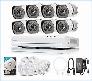Zmodo 720p Nvr 8ch Outdoor Cctv 720p Spoe Security Camera