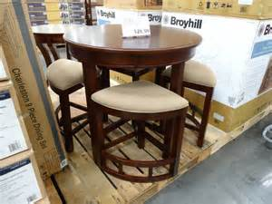 lenoir chair company dining set broyhill lenoir 5 counter height dining set