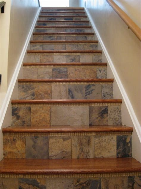 amazing tiled staircases the owner builder network