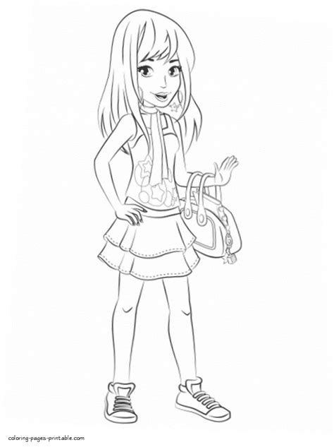 coloring pages  lego friends coloring pages  lego