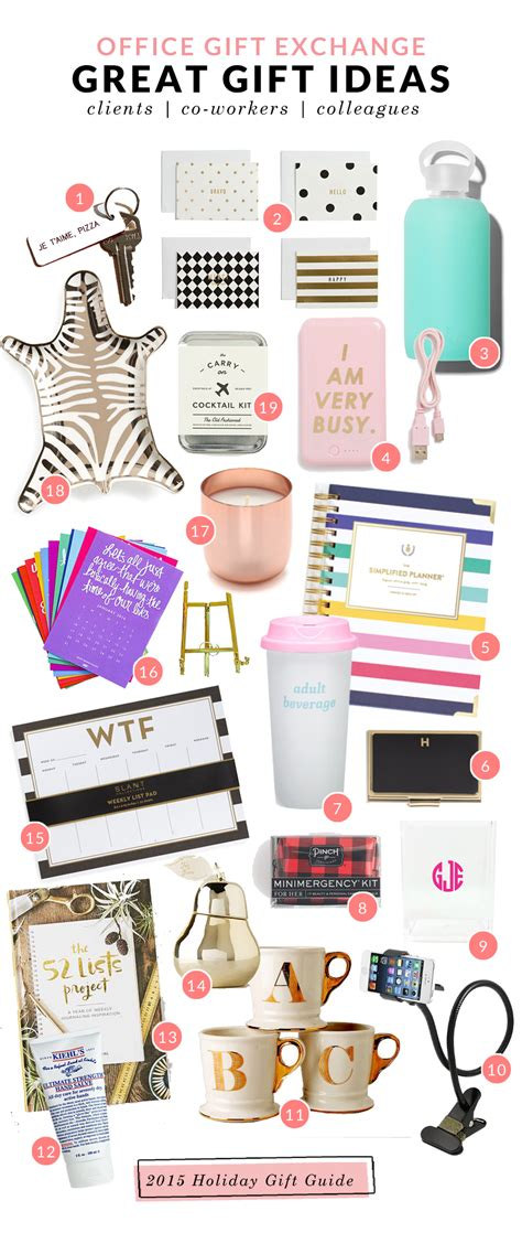 great secret santa gift ideas for co workers or clients