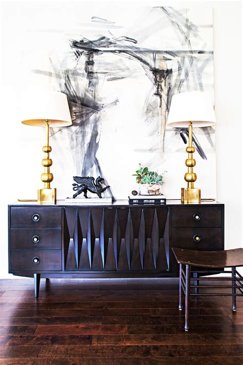 How To Sideboard by Inspired Mid Century Sideboard Styling Swoon Worthy