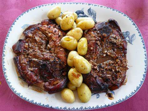 cuisiner la rouelle de porc rouelle de porc au sirop d 39 érable