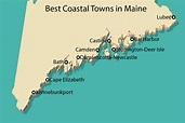 Beach Map Of Maine Coast