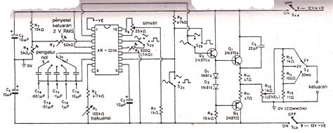 pcb xr function generator electronic circuit diagram