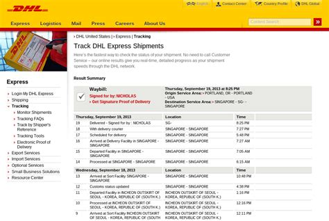 Dhl Package Tracking Tips & Tricks
