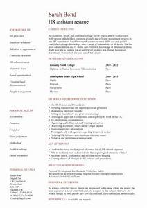 Student Resume Builder Free Student Entry Level Hr Assistant Resume Template
