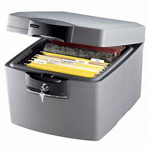 sentry safes h3100 waterproof fire file chest fireproof With fireproof document case
