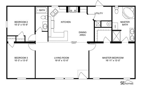 clayton homes home floor plan manufactured homes