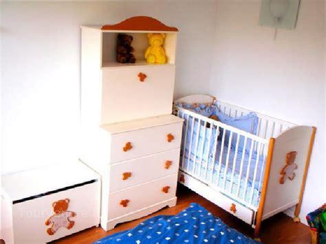 chambre bébé natalys lit bebe natalys ourson