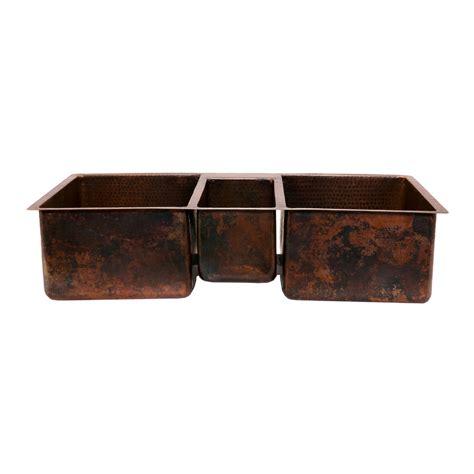 oil rubbed bronze drop in sink shop premier copper products oil rubbed bronze 3 copper